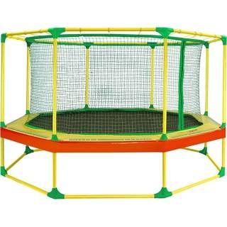 Батут прыжковый Leco-IT Outdoor с ограждением гп060026 диам. 310 см