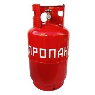 Газовый баллон 12 л ВБ-2 (вентиль)