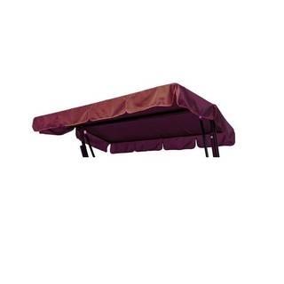 Тент-крыша для садовых качелей Мастак (цвет бордовый)